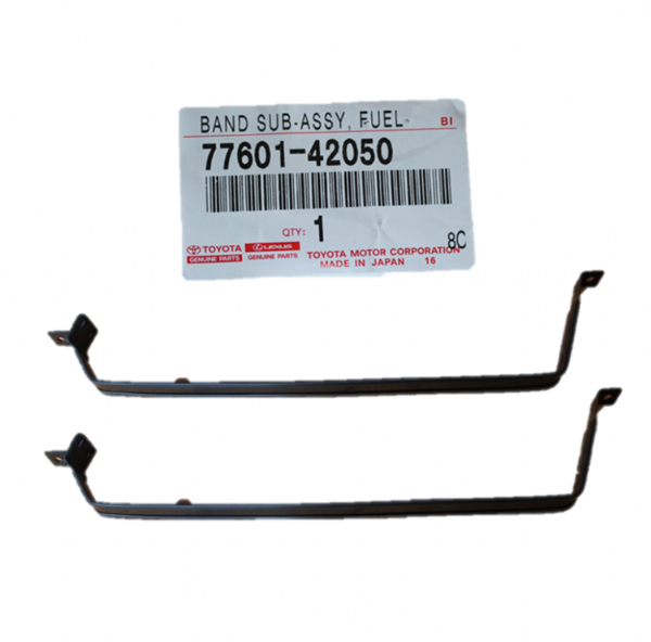 Genuine Toyota Rav4 Fuel Tank Band Straps (Qty: 2) 77601-42050, 7760142050